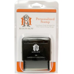 Rectangle Personalized Stamp Set Mason Row