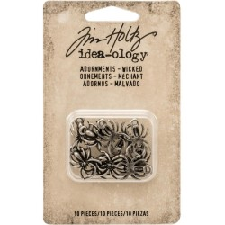 Wicked Adornaments Antique Nickel Idea-ology by tim holtz