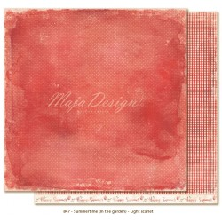 "Carta Light Scarlet 12""x12"" Summertime Collection Maja Design"