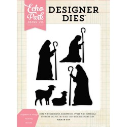 Sheperd & Sheep Nativity Die Set Designer Dies Echo Park