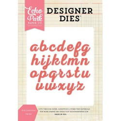Kate Lowercase Alphabet Die Set Designer Die Echo Park