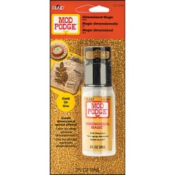 Gold Glitter Dimensional Magic 59 ml Mod Podge