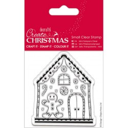 Gingerbread House Small Clear Stamps Papermania Docrafts