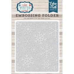 Snowflake 2 Embossing Folder Echo Park