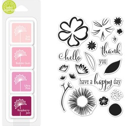 Happy Day Flowers Color Layering Bundle Hero Arts