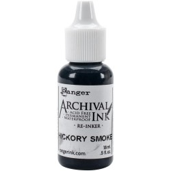 Hickory Smoke Re-Inker Archival Ink Ranger