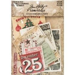Christmastime Festive Ephemera Pack Tim Holz Idea-ology