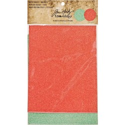 Holiday Deco Sheets Tim Holtz Idea-ology