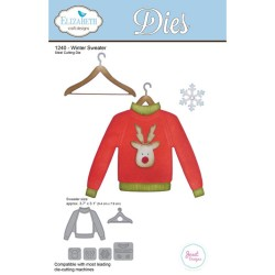 Winter Sweater Dies Elizabeth Craft Designs
