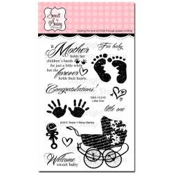 Little One Clear Stamps Sweet'n Sassy Stamps