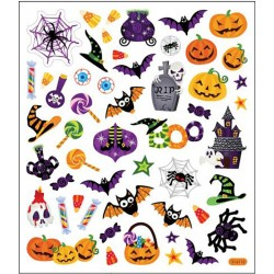 Halloween Icons Stickers Tatooking