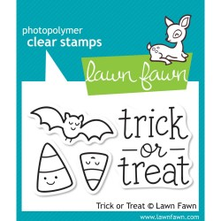 Trick or Treat Photopolymer Clear Stamps Lawn Fawn