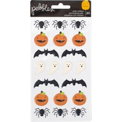 Trick or Treat Puffy Stickers Pebbles American Crafts