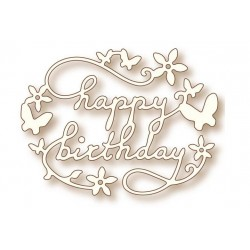 Birthday Specialty Craft Die Wild Rose Studio