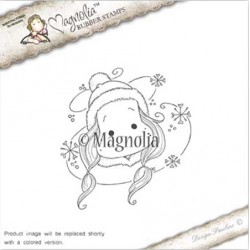 Timbro Snowy Storm Tilda Magnolia Rubber Stamp - AH16