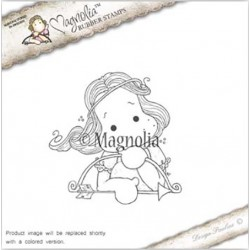 Timbro Heavenly Tilda Magnolia Rubber Stamp - AH16