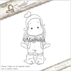 Timbro Ice Tilda Magnolia Rubber Stamp - AH16