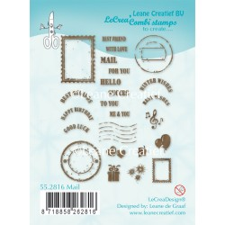 Mail Clear Stamp Combi Stamp Leane Creatief