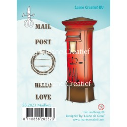 Mailbox Clear Stamp Combi Stamp Leane Creatief