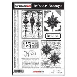 Noel Rubber Stamps Darkroom Door