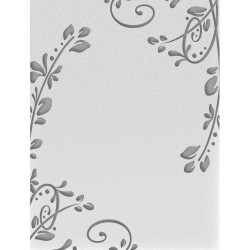 Flourished Corners Embossing Folder Ultimate Crafts