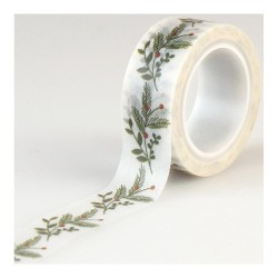 Sprigs I Love Christmas Decorative Tape Echo Park