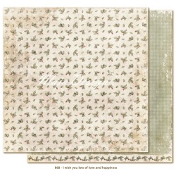 "Carta I wish you lots of love and happiness 12""x12"" I wish Collection Maja Design"