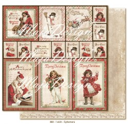 "Carta I wish Ephemera 12""x12"" I wish Collection Maja Design"
