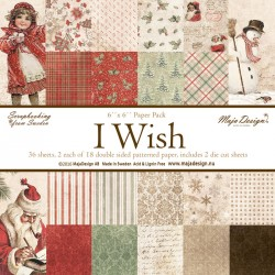 "Carta I wish Collection 6""x6"" Paper Pack Maja Design"