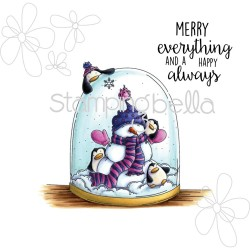 "Timbro Merry Everything Rubber Stamp The ""Woodies"" Collection Stamping Bella"