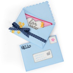 Envelope Mini Thinlits Plus by Stephanie Barnard Sizzix