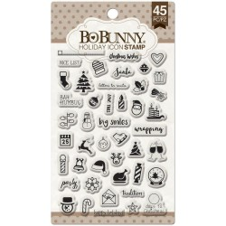 Holiday Icon Clear Stamps Bo Bunny