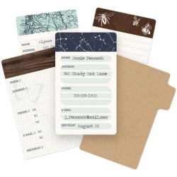 Typecast Mini Card Set We R Memory Keepers