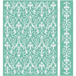 "Foundry Embossing Folder 5""x7"" Cricut Cuttlebug"