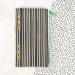 Cute Stripes Pencil Bag My Prima Planner Prima Marketing