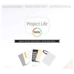 Midnight Edition Core Kit Project Life by Becky Higgins