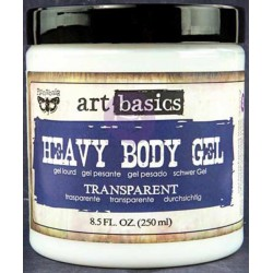 Transparent Heavy Body Gel Art Basics by Finnabair Prima Marketing