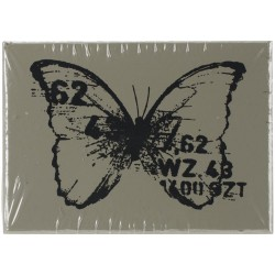 Butterfly 3 Wood Mounted Stamp by Finnabair Prima Marketing