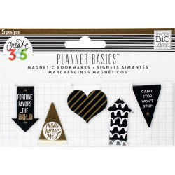 Gold Mini Magnetic Clips Create 365 The Happy Planner 5 Pkg Me&My Big Ideas