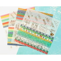 "Washi Stickers 6""x6"" My Prima Planner by Julie Nutting Prima Maketing"