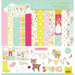 """Bloom Collection Pack 12""""x12"""" Photo Play"""