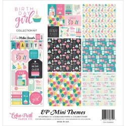 "Birthday Girl Collection Kit 12""x12"" Echo Park"