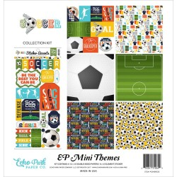 "Soccer Collection Kit 12""x12"" Echo Park"