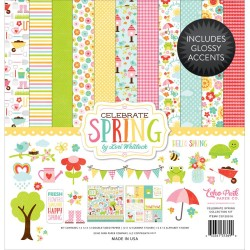 "Celebrate Spring Collection Kit 12""x12"" Echo Park"