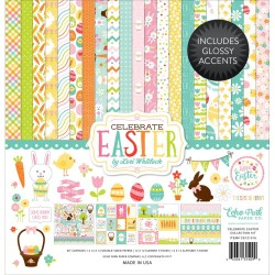 "Celebrate Easter Collection Kit 12""x12"" Echo Park"