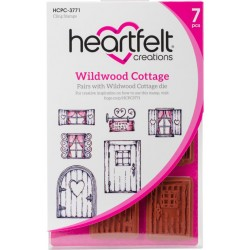 Wildwood Cottage Cling Rubber Stamps Heartfelt Creations