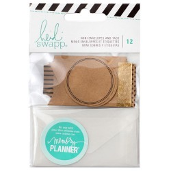 Memory Planner Mini Envelopes & Tags Heidi Swapp