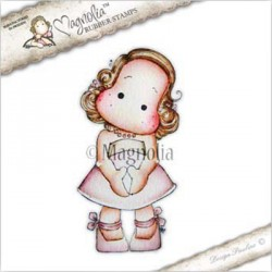 Timbro Dressed for Festivity Tilda Magnolia Rubber Stamp - LE17