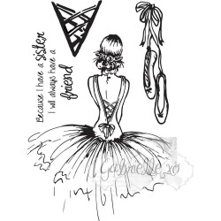 "Gabi's Haute Couture Set Clear Stamps 4""x6"" 49 & Market"