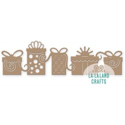 Presents Border Steel Craft Dies La-La Land Crafts